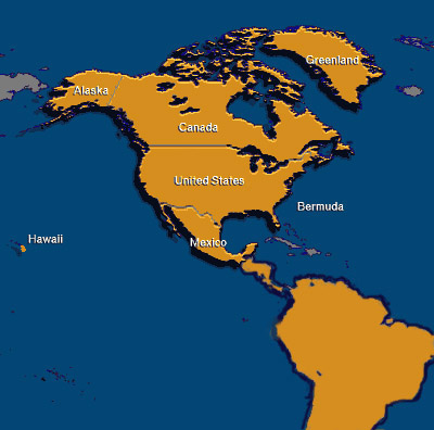 Image of the Americas to locate manufacturers representatives